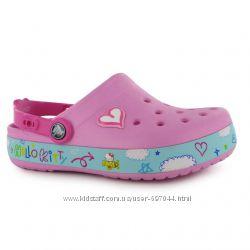 КРОКС  Crocs Hello Kitty Plane Sandals Junior Girls J3 -21, 5 см р. 34