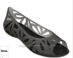 Балетки crocs Black Adrina III р. 38, 39, 40