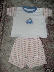 Летний комплект футболкашорты Baby walzГермания 86-92