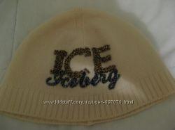 Фирменная теплая шапочка Iceberg оригинал Италия