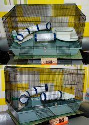 Вольер-клетка для хорьков, шиншил, кроликов, ежиков и др. грызунов  разных