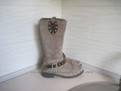 Модные кожаные фирменные сапожки Superfit 36 р.