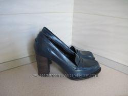 Кожаные модные стильные туфельки Bagatt. 36 р.