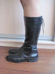 Модные стильные кожаные сапожки Shoemaker. 41 р.
