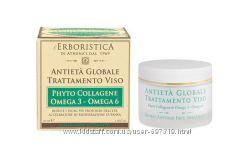 Лечебный крем для лица Erboristica Global Antiaging Face Treatment