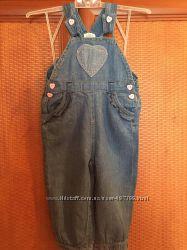 Легенький джинсовий комбінезончик