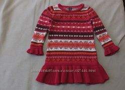 Теплое платье BabyGap, 2 года, 86