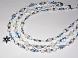 Новогодние ожерелья для девочек