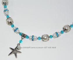 Эксклюзивная детская бижутерия - ожерелье Русалочка