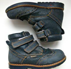 Ортопедические демисезонные ботинки Woopy Турция мальчику, 25 р, 16, 5 cм
