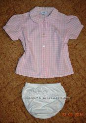 Рубашечка на девочку 1-2 года