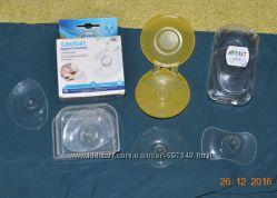 Накладки силиконовые для кормления 3 шт