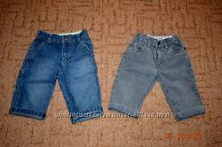 Штанишки бриджи джинс  вельвет на 9-12 мес