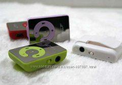 Зеркальный MP3 плеер Клипса Наушники USB. Спеши