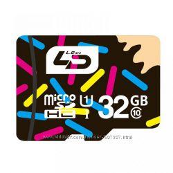 Карта памяти micro SD 32Gb Smart Card LD. Class10