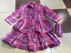 Платье бу 110 размер e-vie angel