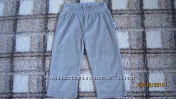 Серые велюровые штаны Lupilu р. 74-80 6-12 мес
