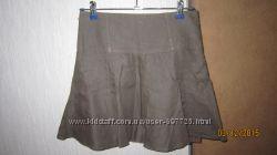 Новая симпатичная льняная юбка Cache-cache р. 40