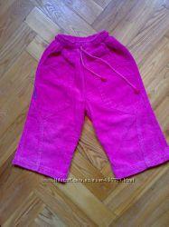 Штаны розовые вельвет ТМ Одягайко р. 80 см