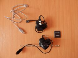 Зарядка, батарея и usb-шнур для телефона самсунг