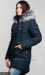 Куртка, парка зимняя 2017г, мега выбор, р. 42-56, цвета в ассортим. Турция