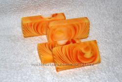 Продаю апельсиновое натуральное мыло ручной работы