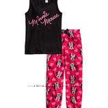 Новая качественная пижама H&M с бирками с Минни Маус
