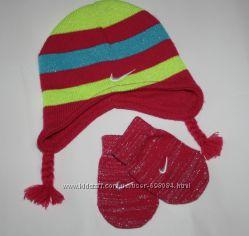 Набор шапка и рукавички Nike 3-6 мес