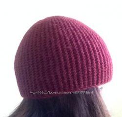 Вязаная, теплая шапка