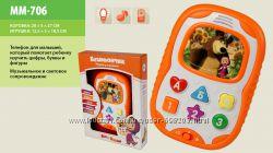 Музыкальный планшет для малышей Бэбифончик Маша и Медведь