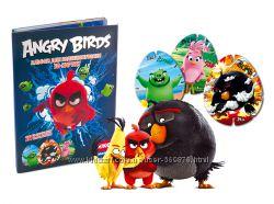 3D карточки Angry Birds, эко-маркет