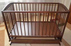 Детская кроватка Radek 2 на пружине с ящиком