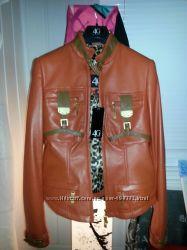 куртка кожаная Gizia