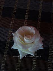 Брошка - заколка троянда  брошь роза