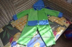 Флисовый костюмчик рост 80-90 см