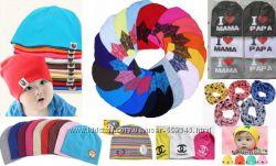 Детские шапочки, огромный выбор цветов и моделей