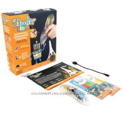 3D-ручка 3Doodler Start  - Креатив - прозрачная ручка и 48 стержней