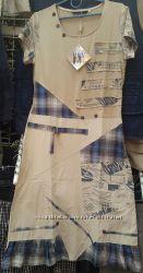 Женские трикотажные платья для дома и улицы. 2 цвета. разные модели