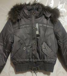 Зимняя женская куртка. Молодёжка. Цвет мокрый асфальт. Хл и 3хл.
