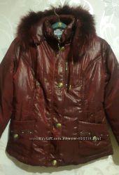 Зимние женские куртки. Чёрный и бардовый цвет. 48-50 и 52-54р.
