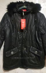 Женская зимняя куртка. Утеплитель синтепон. Цвет черный.  54-56р.
