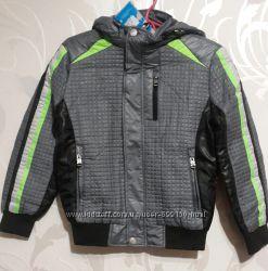 Стильная деми-куртка, ветровка на тонком синтепоне для мальчиков от 6-12 лет