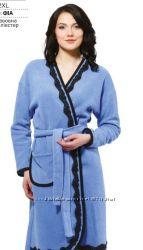Красивый теплый халат Ellen р. XL-2XL