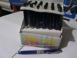 ручка фонарик с лазером