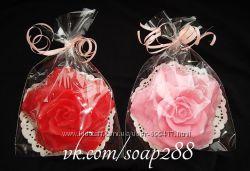 Мыло на подарок Бархатная роза