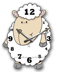 Оригинальные детские настенные часы Glozis Dolly
