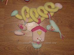 Фирменные игрушки-подвески Lamaz, KsKids, Tiny Love