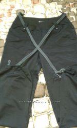 брюки из плащевки
