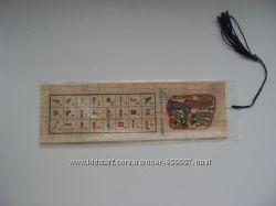 Закладка из Египта сделана из папируса