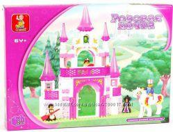 Конструкторы для девочек. Sluban, серия Розовая мечта. Замок, ресторан